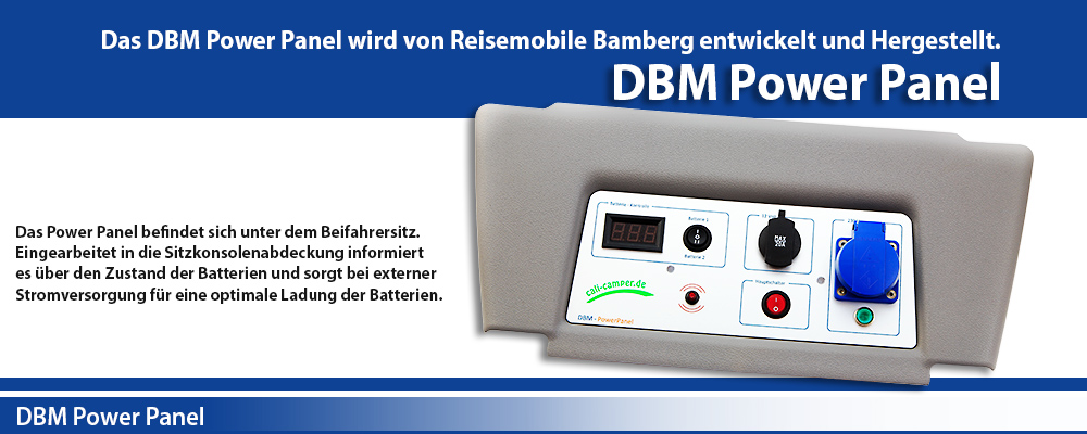 DBM Power Panel